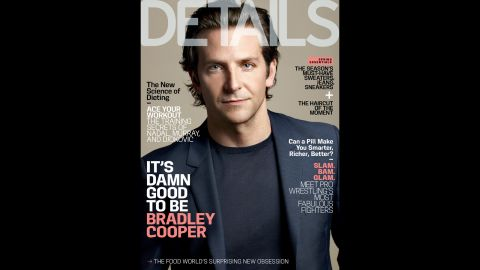 """Bradley Cooper opens up about his father's passing, living with his mother and his own aspirations for fatherhood <a href=""""http://www.details.com/celebrities-entertainment/cover-stars/201305/bradley-cooper-hangover-part-3"""" target=""""_blank"""" target=""""_blank"""">in the May issue of Details. </a>"""