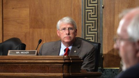 In April, Sen. Roger Wicker of Mississippi was sent a suspected ricin-laced letter.
