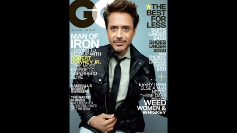 """Robert Downey Jr. is a master of the humble-brag. In the <a href=""""http://www.gq.com/entertainment/movies-and-tv/201305/robert-downey-jr-profile-may-2013"""" target=""""_blank"""" target=""""_blank"""">May issue of GQ magazine</a>, the """"Iron Man 3"""" star said he's """"probably one of the best. ...But it's not that big a deal. It's not like this is the greatest swath or generation of actors that has ever come down the pike."""""""