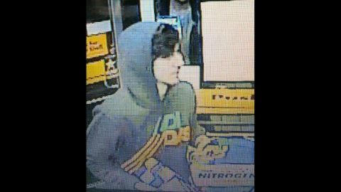 The FBI tweeted this photo on April 19, 2013, and urged Watertown residents to stay indoors as they searched for the second suspect.