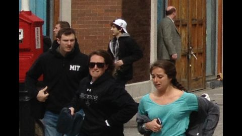The man identified as Suspect 2 appears in a tighter crop of David Green's photo.