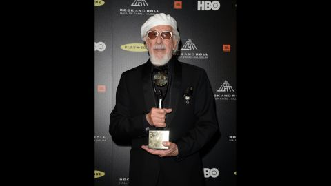 Lou Adler is honored with the Ahmet Ertegun Award for lifetime achievement.
