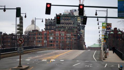 The Harvard Bridge, known locally as the Massachusetts Avenue Bridge