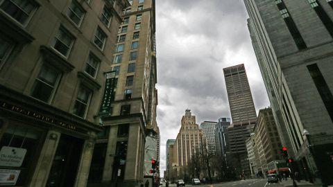 Congress Street in Boston