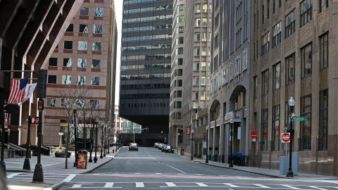 Federal Street, in the Financial District