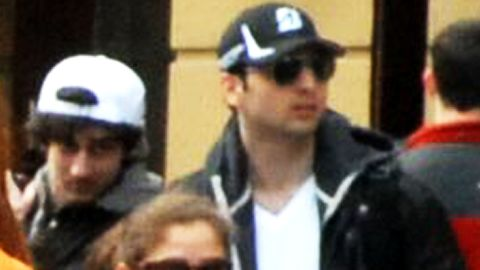 Newly released photos of bombing suspects Dzhokhar Tsarnaev, left, and his older brother Tamerlan Tsarnaev, right.