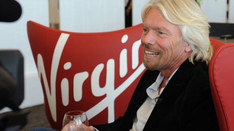 Virgin Media magnate Richard Branson.