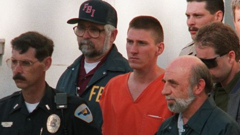 """<a href=""""http://edition.cnn.com/2007/US/law/12/17/court.archive.mcveigh/"""">Timothy McVeigh</a> originally requested that his ashes be spread at the Oklahoma City bombing memorial, the site that commemorates the 168 people he killed in 1995 with a 7,000-pound truck bomb. But he later wrote that that would be """"too raw, cold."""" After his 2001 execution, his ashes were given to his attorney, who spread them at an undisclosed location."""