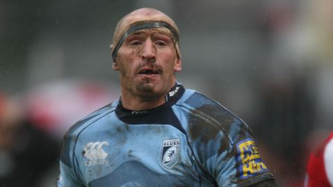 """Former Wales rugby union captain Gareth Thomas described the conflict between his sport and his sexuality when he came out in 2009, telling the Daily Mail newspaper: """"It is barbaric. I could never have come out without first establishing myself and earning respect as a player."""""""