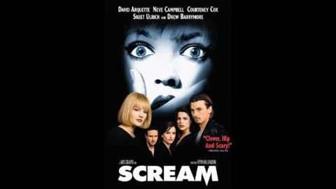 """<strong>""""Scream"""":</strong> Once upon a time, this Kevin Williamson and Wes Craven horror flick made teens everywhere terrified of a singular Ghostface mask. Since """"Scream's"""" heyday in the '90s, the slasher movie is now being developed as a TV series for MTV."""