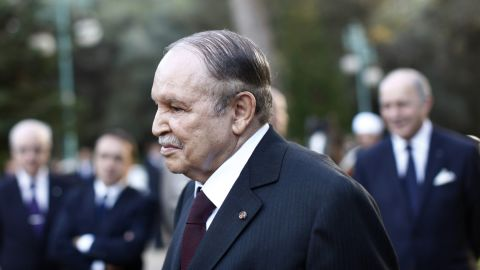 Algeria's President Abdelaziz Bouteflika is 78. Having been in his position since 1999, he is currently in his fourth term. He also served a long tenure as Minister of Foreign Affairs from 1963 to 1979.