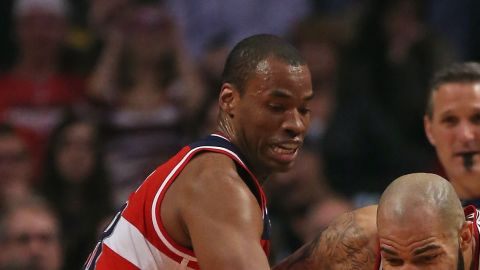 Jason Collins of the Washington Wizards became the first active NBA player to announce that he is gay on April 29, 2013. The 34-year-old was made a free agent in July but said he wanted to continue playing.