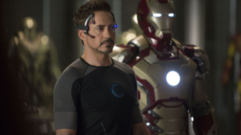 """Robert Downey Jr. brought Tony Stark's Iron Man to life in 2008. There have been two sequels, and Iron Man is a major star in """"The Avengers"""" films."""
