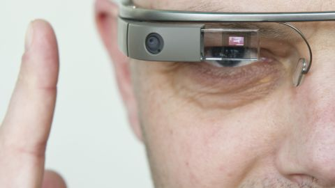 """The future will be bright in all those augmented realities. <a href=""""http://www.google.com/glass/start/"""" target=""""_blank"""" target=""""_blank"""">Google Glass</a> is the wearable computer that responds to voice commands and displays information on a visual display."""