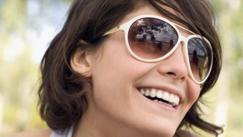 """Sunglasses physically block airborne allergens from blowing into -- and irritating -- your eyes, especially on windy days.<br /><br /><a href=""""http://www.health.com/health/gallery/0,,20352313,00.html"""" target=""""_blank"""" target=""""_blank"""">Health.com: 10 worst plants for your allergies</a>"""