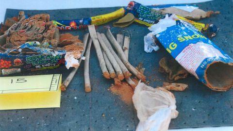"""Phillipos, Tazhayakov and Kadyrbayev are accused of removing items from Tsarnaev's dorm room after the bombings on April 15, 2013. The items they took included a backpack containing fireworks that had been """"opened and emptied of powder,"""" according to the affidavit."""