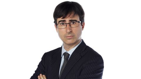 John Oliver says he is very excited about his upcoming HBO series.