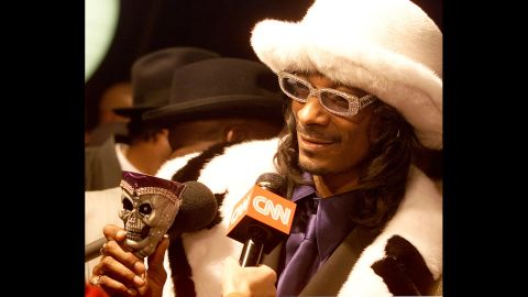 """He may want to be known as """"Snoop Lion"""" now, but back in the day, Snoop Dogg played up the gangsta/pimp image."""