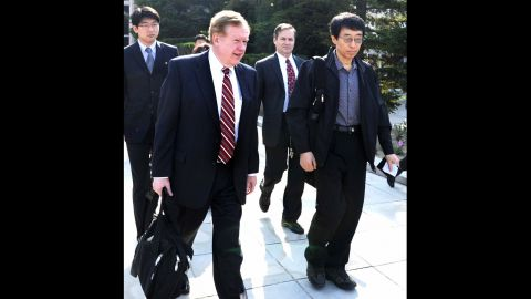 """Detained in April 2011, Eddie Yong Su Jun<strong> </strong>was released by North Korea a month afterward. His alleged crime was not provided to the media. The American delegation that <a href=""""http://www.cnn.com/2011/WORLD/asiapcf/05/28/north.korea.american.released/index.html"""">secured his freedom</a> included Robert King, the U.S. special envoy for North Korean human rights issues."""