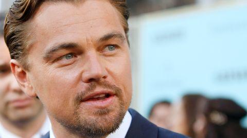 Leonardo DiCaprio at Gatsby premiere
