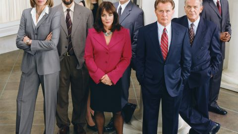 """Political drama """"The West Wing"""" ran seven seasons from 1999 to 2006, drawing critical and popular acclaim. Though some debate the quality of the show after creator Aaron Sorkin's departure after season 4, the characters and dialogue kept audiences hooked, making it a strong candidate for reruns and binge-watching."""