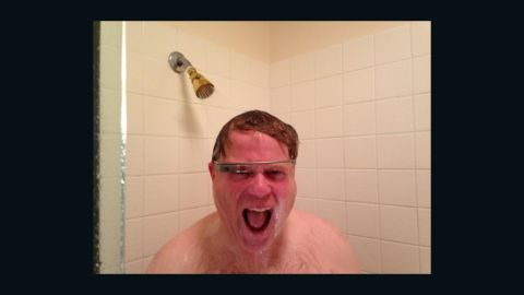 Tech journalist Robert Scoble posted a photo of himself wearing Google Glass in the shower to show that the set is waterproof. The photo became popular on the Internet and was featured in a Tumblr blog called White Men Wearing Google Glass. Click through the gallery to see more people who are sporting the electronic eyewear. If you think you can out-cool these guys, share a photo of yourself wearing them on CNN iReport or tag your Instagram photos #cnnireport.