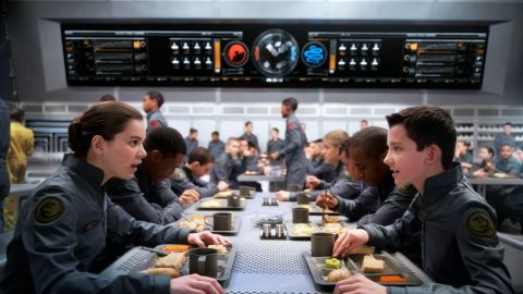 """Orson Scott Card's novel """"Ender's Game,"""" which began as a short story in 1977, finally made the jump to the big screen in November 2013, starring Asa Butterfield as Ender and Hailee Steinfeld as Petra."""
