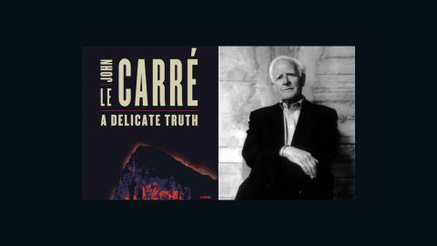 """""""A Delicate Truth"""" by John le Carre."""