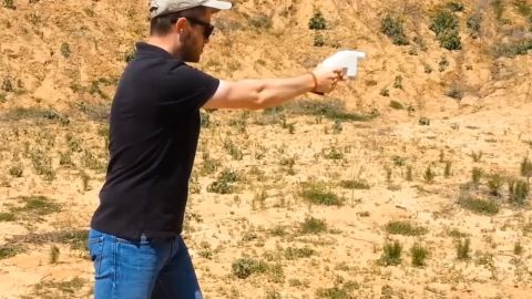 Defense Distributed, a Texas outfit, posted a video it says is the first live firing of a handgun entirely created with a 3D printer.