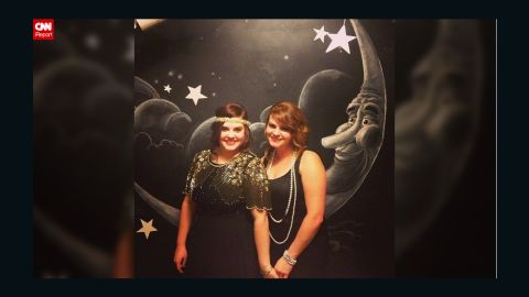 """Krysti Kalkman, left, invited about 40 people to her 1920s-inspired birthday party. """"The guest list is very important,"""" she said. """"I invited anyone who I thought would have a blast and who is intriguing."""""""