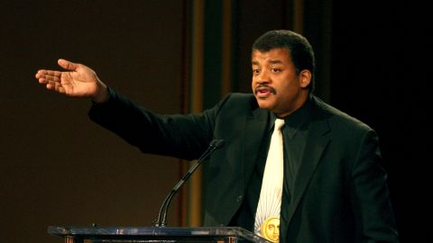 """Neil deGrasse Tyson, the director of the Hayden Planetarium at the American Museum of Natural History, spoke at Rice University in Houston on May 11. Here, he spoke about his NovaScienceNow show, """"Asteroid,"""" in 2006."""