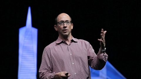 """""""Be in this moment. Now be here in this moment. Now, be here in this moment,"""" Twitter CEO Dick Costolo told grads at the University of Michigan, his alma mater, on May 4. In this earlier moment, he spoke to Twitter developers in 2010."""