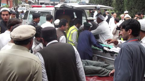 The most deadly attack, an explosion during a rally in the Kurram tribal district on May 6, killed 18 people and wounded 55.