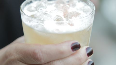 """Period-appropriate drinks are a must at a 1920s party. Los Angeles event planner Amy Campbell recommends a gin fizz or a penicillin. She also suggests <a href=""""http://ireport.cnn.com/docs/DOC-969063"""">hinting at the Prohibition era</a> by covering liquor bottles at the bar with brown paper bags."""