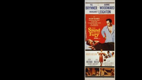 """Martin Ritt's 1959 film adaptation of William Faulkner's complex 1929 classic """"The Sound and the Fury"""" bears little resemblance to the book."""