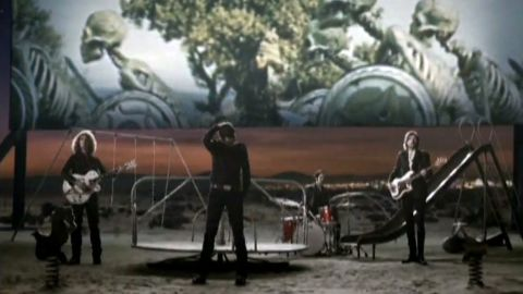 """A scene from the music video for """"Bones"""" by The Killers features references to the skeleton fight from """"Jason and the Argonauts."""""""