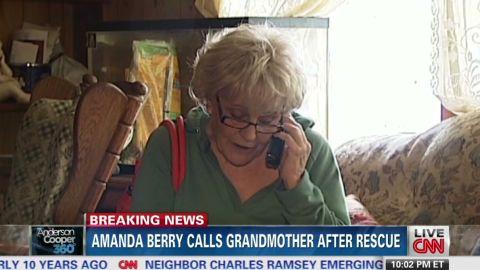 ac sot amanda berry calls grandmother_00005030.jpg
