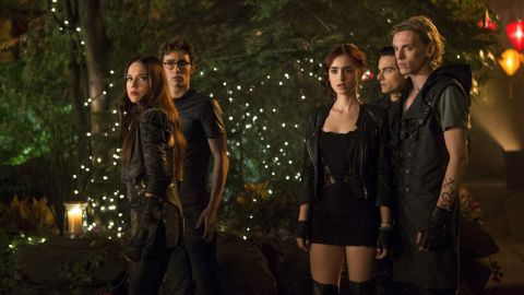 """After a lackluster August 2013 release for the adaptation of the first book in Cassandra Clare's """"Mortal Instruments"""" series, production for the second film was initially put on hold. But one thing fans did seem to like about """"City of Bones""""? The casting, with Jemima West as Isabelle, Robert Sheehan as Simon, Lily Collins as heroine Clary, Kevin Zegers as Alec and Jamie Campbell Bower as Jace."""
