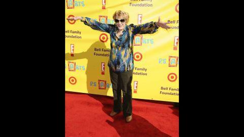 Cooper arrives at the PS Arts Express Yourself at Barker Hangar on November 15, 2009, in Santa Monica, California.