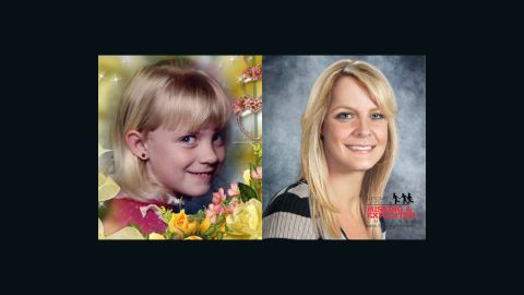 Witnesses saw a man grab 9-year-old Michaela Joy Garecht outside a store near her home near Oakland, California, in November 1988. Here, Michaela is seen in a childhood photo next to an image of what she might look like today. If you have seen Michaela or any of the faces in this gallery, please contact your local FBI office or call 1-800-THE-LOST.