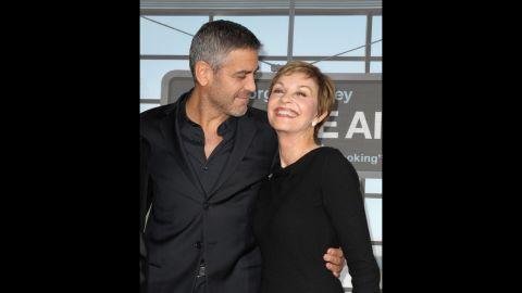 George Clooney's mom, Nina Warren.