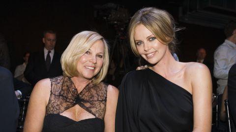 Charlize Theron's mom, Gerda Theron.