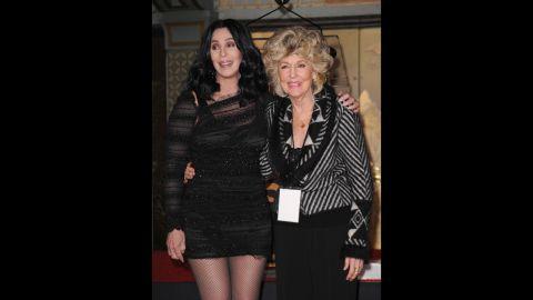 Cher's mom, Georgia Holt.