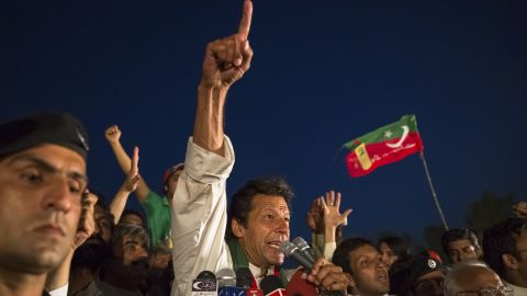 Khan, a charismatic former cricketer, has proved a popular candidate among Pakistan's young, urban middle class.