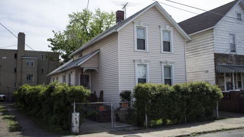 The house of Onil Castro's two sons, where he was staying when he was arrested on Kinkel Avenue. He and his brother Pedro were arrested along with Ariel Castro, but later were released and not charged.