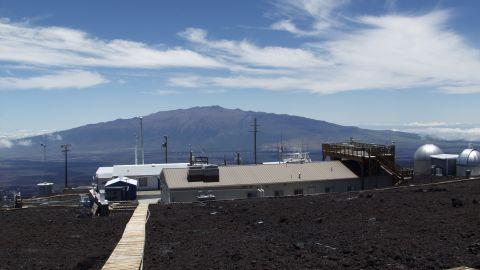 NOAA's Mauna Loa Observatory in Hawaii saw a new peak in carbon dioxide levels.