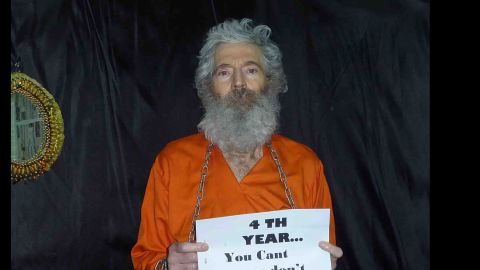 Retired FBI agent Robert Levinson has been missing since 2007. His family says he was working as a private investigator in Iran when he disappeared. It's believed Levinson, now 64, is being held captive somewhere in southwest Asia.