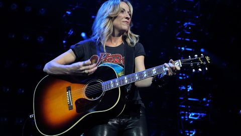 """In 2006, singer Sheryl Crow underwent minimally invasive surgery for breast cancer. In 2012, she <a href=""""http://www.cnn.com/2012/06/05/showbiz/sheryl-crow-brain-tumor/index.html"""" target=""""_blank"""">revealed she had a noncancerous brain tumor.</a>"""