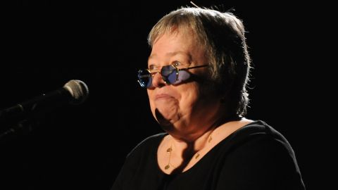 """Actress Kathy Bates <a href=""""http://marquee.blogs.cnn.com/2012/03/21/why-kathy-bates-kept-her-cancer-private/"""" target=""""_blank"""">didn't share news of her battle until 2012</a>, eight years after she was diagnosed with ovarian cancer."""