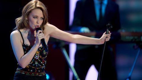 Australian singer Kylie Minogue was only 36 when she was diagnosed with breast cancer in 2005.